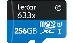 Lexar MicroSDXC 633x UHS-I 256GB + Adapter