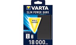 Varta Slim Powerbank 18000 Black