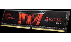 G.Skill Aegis 4 Black 8GB DDR4-2400 CL17