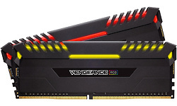 Corsair Vengeance RGB LED Black 16GB DDR4-4000 CL19 kit