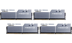 G.Skill Trident Z Silver/White 32GB DDR4-3866 CL18 quad kit