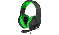Genesis Argon 200 Gaming Headset Black/Green