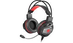 Genesis Neon 350 Gaming Headset Black/Red