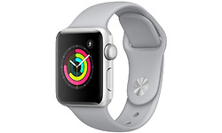 Apple Watch Series 3 38mm Aluminium Silver + Fog Sport Band