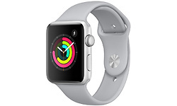 Apple Watch Series 3 42mm Aluminium Silver + Fog Sport Band