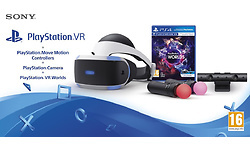 Sony PlayStation VR + Move Motion Controllers + VR Worlds + PS camera