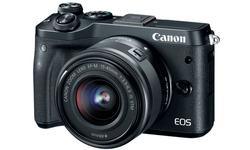 Canon Eos M6 15-45 + 55-200 kit Black