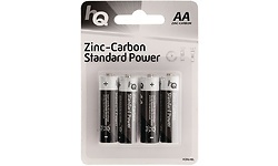 HQ Zinc-Carbon Standard Power AA