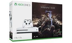 Microsoft Xbox One S 1TB + Shadow of War Bundle