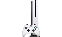 Microsoft Xbox One S White 1TB + Minecraft Limited Edition