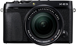 Fujifilm X-E3 18-55 kit Black