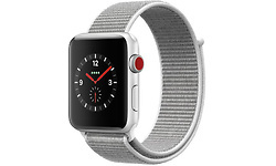 Apple Watch Series 3 38mm Aluminium Silver + Sport Loop Grey