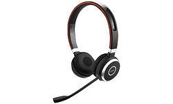 Jabra Evolve 65 Black/Red