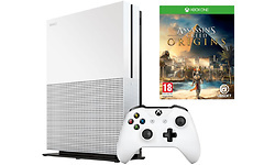 Microsoft Xbox One S 1TB White + Assassins Creed