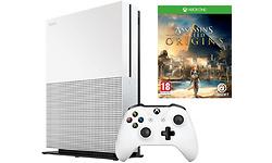 Microsoft Xbox One S 1TB White + Assassins Creed