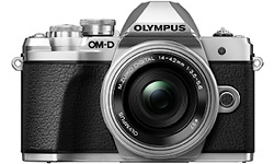 Olympus OM-D E-M10 Mark III 14-42 + 40-150 kit Silver