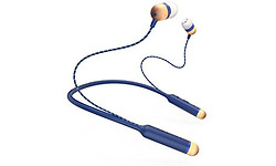 House of Marley Smile Jamaica Denim In-Ear Blue