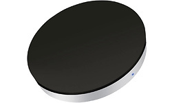 Zens Single Wireless Charger Round Black