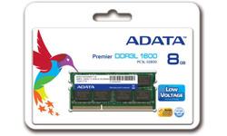 Adata Premier Series 8GB DDR3L-1600 CL11 Sodimm