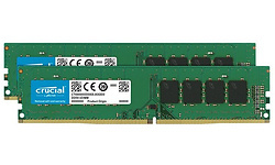 Crucial 32GB DDR4-2666 CL19 DR x8 kit