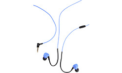 Boompods Sportpods Race Wired Blue