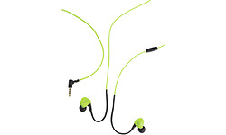 Boompods Sportpods Race Wired Green