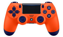 Sony DualShock 4 Controller PS4 V2 Blue/Orange