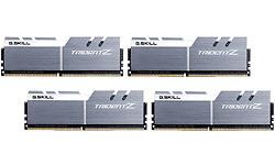 G.Skill Trident Z White/Silver 32GB DDR4-4000 CL18 quad kit