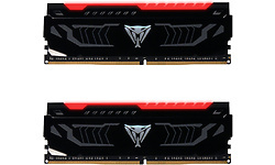 Patriot Patriot Viper LED Black/Red 16GB DDR4-2400 CL14 Kit