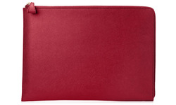 "HP Spectre 13.3"" Split Leather Sleeve Red"