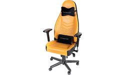 Noblechairs Icon Gaming Chair Cognac/Black/Gunmetal