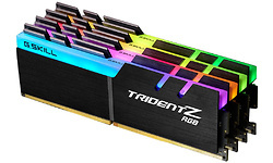 G.Skill Trident Z RGB Black 32GB DDR4-4133 CL19 quad kit