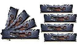 G.Skill Flare X Ryzen Silver 64GB DDR4-2933 CL16 octo kit