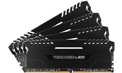 Corsair Vengeance LED Black 32GB DDR4-3000 CL16 quad kit