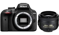 Nikon D3400 35mm kit Black