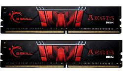 G.Skill Aegis Black/Red 32GB DDR4-2400 CL17 kit