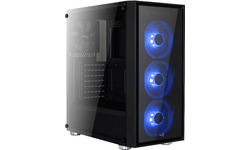 Aerocool Quartz Blue Window Black