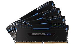 Corsair Vengeance LED Black 32GB DDR4-3000 quad kit
