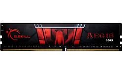 G.Skill Aegis Black/Red 16GB DDR4-2400 CL17