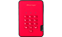 iStorage diskAshur 2 500GB Red