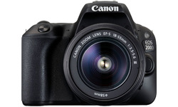 Canon Eos 200D 18-55 kit Black
