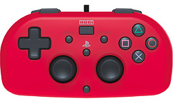 Hori Mini Kids Controller Officieel Sony Licensed PS4 Red