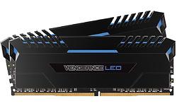 Corsair Vengeance Blue LED Black 32GB DDR4-3000 CL16-18-18-36 kit