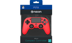 Nacon PS4 Official Wired Controller Red