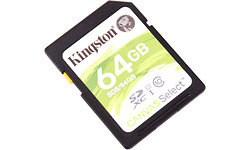 Kingston Canvas Select SDXC UHS-I 64GB