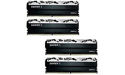 G.Skill SniperX Urban Camouflage 32GB DDR4-2400 CL17 quad kit