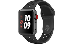 Apple Watch Nike+ OLED 38mm 4G Grey Sport Band Black