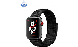 Apple Watch Nike+ OLED 38mm Grey Sport Band Black