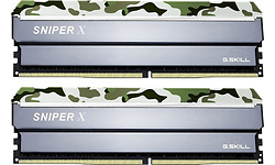 G.Skill SniperX Classic Camouflage 32GB DDR4-3200 CL16 kit