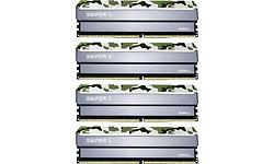 G.Skill SniperX Classic Camouflage 32GB DDR4-3200 CL16 quad kit